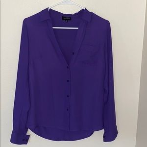 Purple Blouse by The Limited , XS